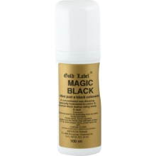 Gold Label Magic Black - preparat do skór, 75 ml