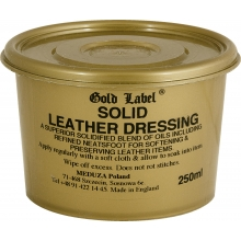 Gold Label Solid Leather Dressing - smar do skór, 250 ml